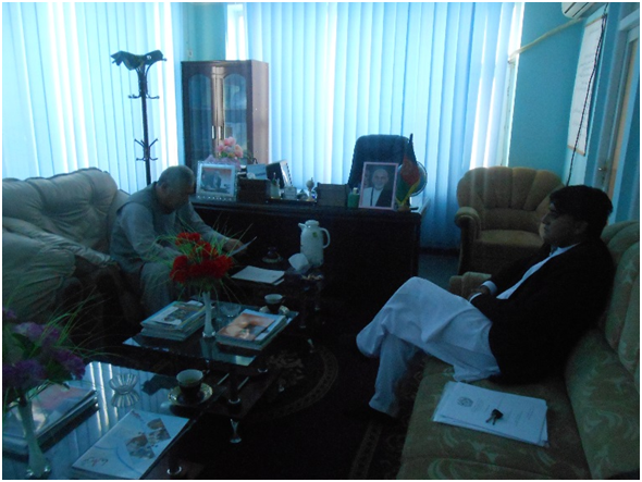 CSFO Director Meeting with Directorate of Economy Jawzjan Province